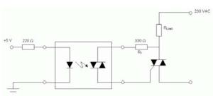 Figure 1: Simple Triac Driving Circuit