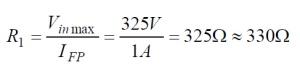 Phototriac Equation 1