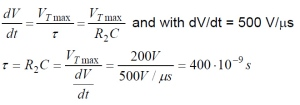 Phototriac Equation 5