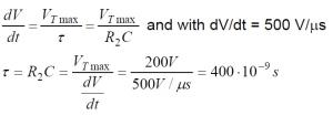 Phototriac Equation 5