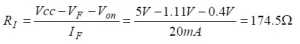 PhotoMOS RI Calculation