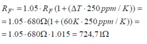 PhotoMos Lower Resistance Value Equation