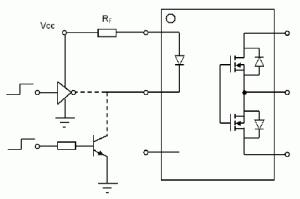Figure 3: PhotoMOS Driving Circuit