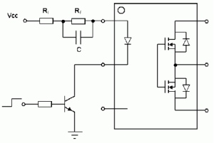 Figure 5: PhotoMOS Speed-up Circuit