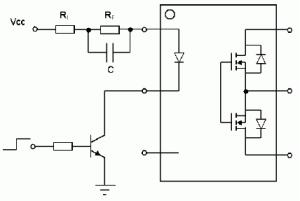 Figure 5: PhotoMOS Speed-up Circuit